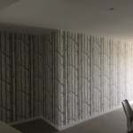 Cole & Sons Woods wallpaper installation - Runaway Bay