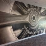 Custom mural installation - Aviation College Archerfield