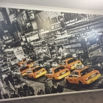 New York City mural for boy's bedroom -Brookwater