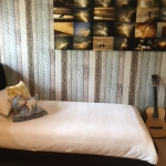 Plank wallpaper installation Ashmore