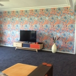 Tweed Heads wallpaper installation - Thibaut Imperial Dragon