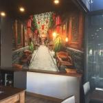 Wallsauce mural installed at Sage Restaurant Broadbeach Gold Coast