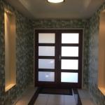 tropical wallpaper installation Sunshine Coast