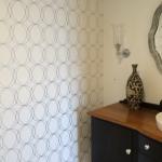 bathroom wallpapr installation Hamilton, Brisbane