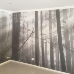 black-and-white-forest-mural-unique
