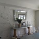 marble mural installation - Maudsland Gold Coast