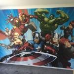 marvel wallpaper installation Brookwater