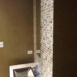 powder room wallpaper installation Byron Bay