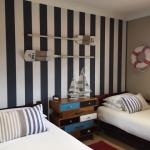 striped wallpaper installation Ashmore