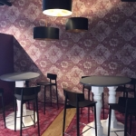 wallpaper installation done at Wineaway Cellars Brisbane