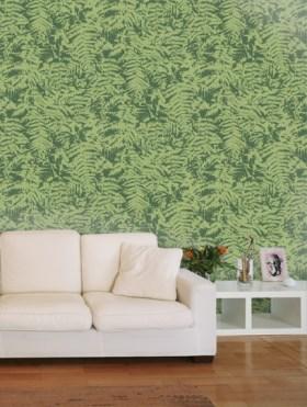 Little Greene Wallpaper - Fern design