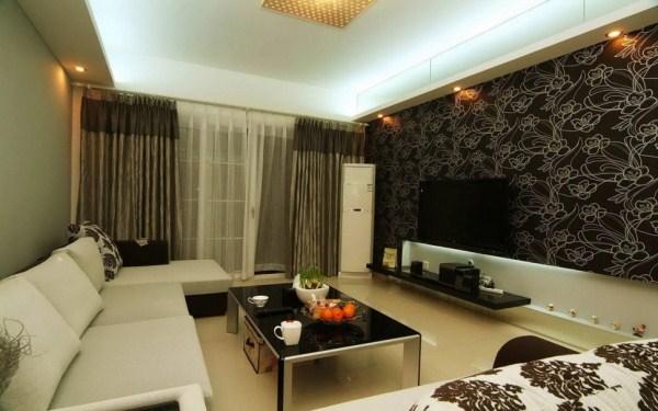 Modern designer wallpaper transforming australian homes for Fancy wallpaper for living room