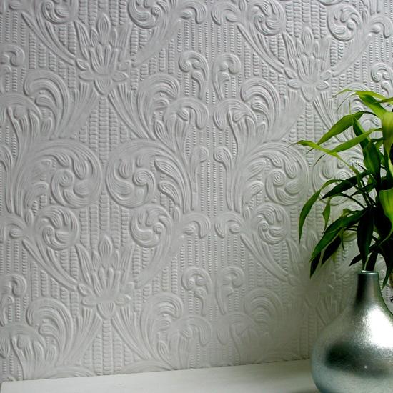 Anaglypta wallpaper textured wallpaper with beautiful - Anaglypta wallpaper ...