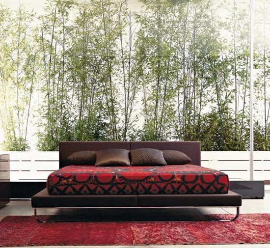 Bamboo Mural Background