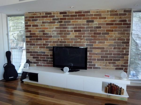 Multicoloured Brick Wallpaper