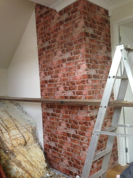 Wallpaper Brisbane - Albany Brick Wallpaper - Collage Collection