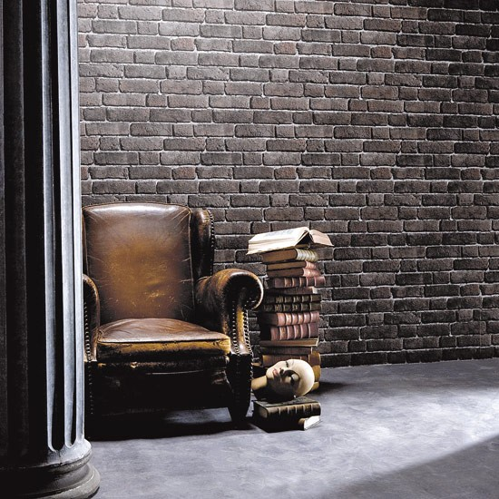 Dark Brick Wallpaper