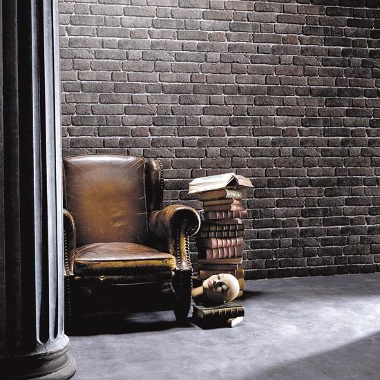 Dark Brick Wallpaper