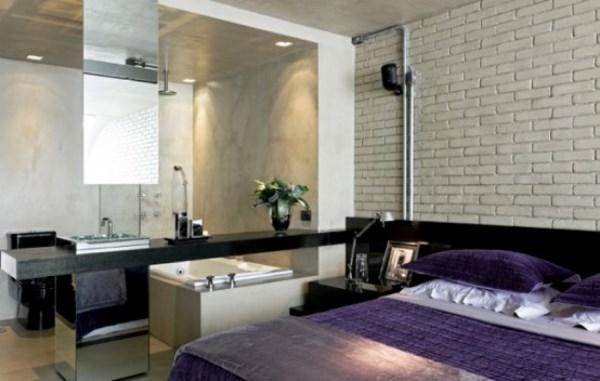 white brick bedroom wallpaper