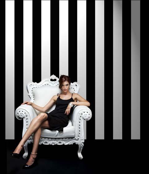 Opus Muras Wallpaper Couture - Couture Stripe