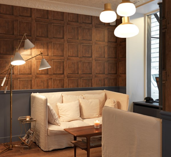 Hotel Design Using Wallpaper