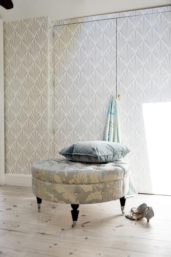 Tapet-Cafe Wallpaper - Deco Fan Design