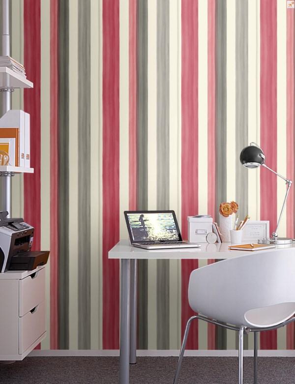 Albany Wallpaper - Romance Stripe