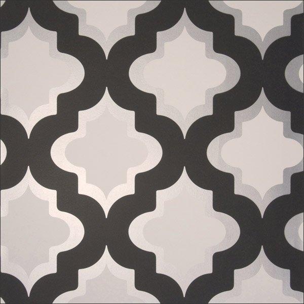 Moroccan Trellis Wallpaper: Moroccan Wallpaper