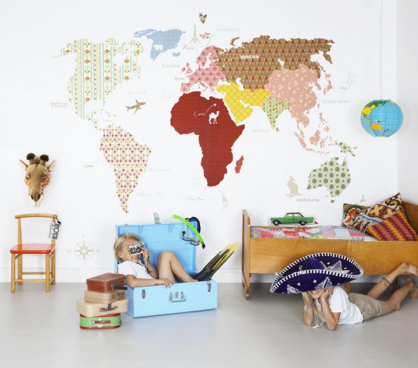 World map wallpaper mural mr perswall hide and seek collection whole wide world gumiabroncs Gallery