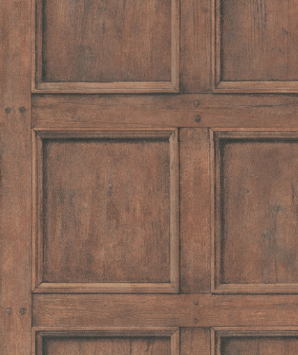 Closeup of regent design hotel paradis wood panelling wallpaper