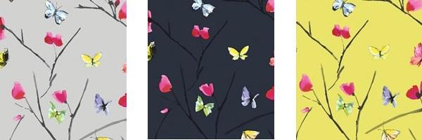Albany Butterfly Wallpaper