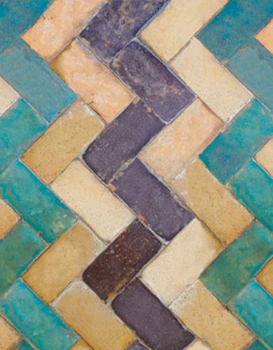 Paper Moon Wallpaper - Tiles - ZigZag