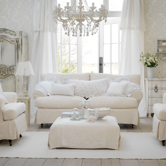 Shabby Chic Wallpaper - Aged To Perfection