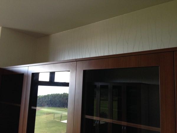 Byron Bay wallpaper installers - walk in robe