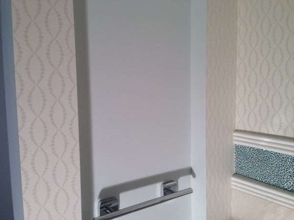 Wallpaper Installers Brisbane - Bathroom Wallpaper Hanging