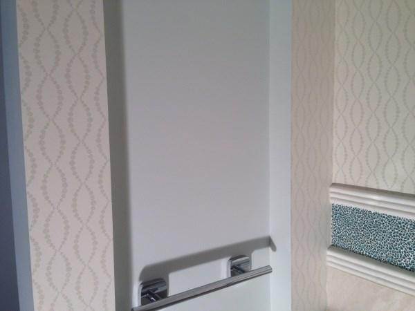 Wallpaper Installers Brisbane - Bathroom Wallpaper Hanging