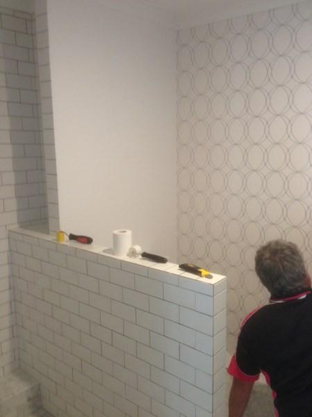 Wallpaper Installers Brisbane - Bathroom Wallpaper
