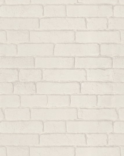 Brewers Wallpaper - Bluff Collection - Brick white