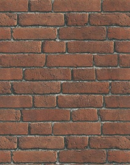 Brewers Wallpaper - Bluff Collection - Brick