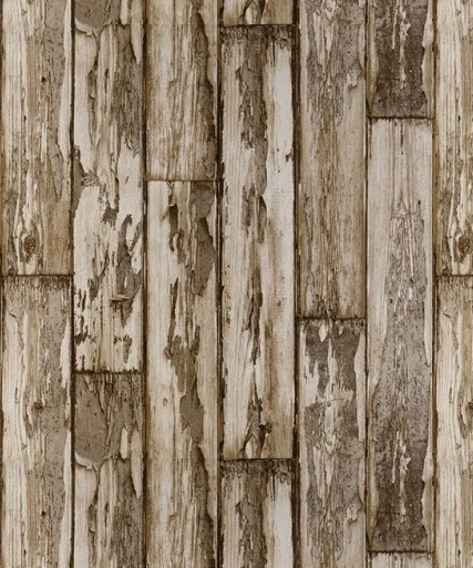 Wood wallpaper scrapwood rustic faux finishes