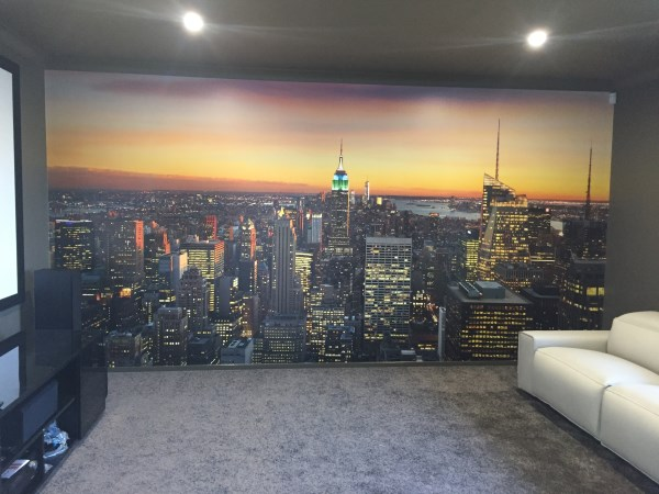 Custom New York City Mural - Reedy Creek Gold Coast
