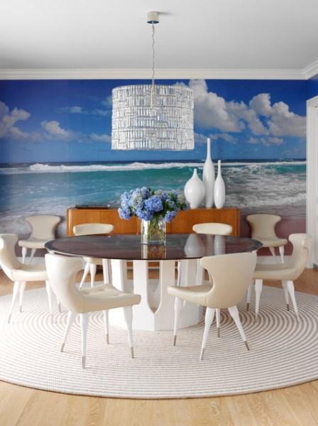 Hamptons Beach House Mural