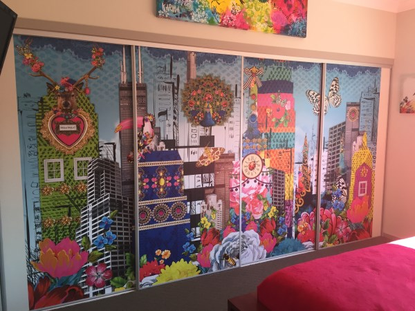Komar Wall Mural Install - Melli Mello - Victoria Point