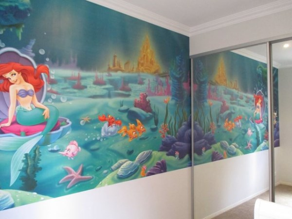 Little Mermaid Mural - Gold Coast