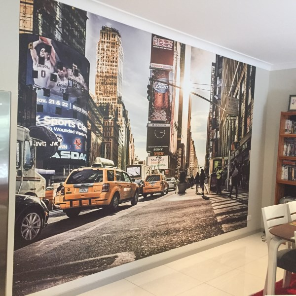 wall mural installations wall murals amp graphics signs of success