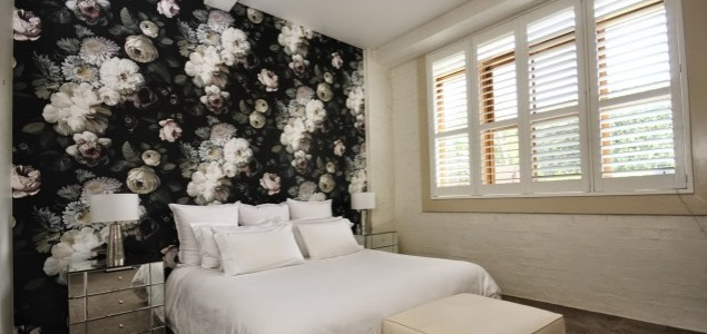 Brisbane wallpaper installtion - Teneriffe Wool Store Apartments