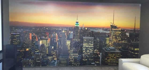 NYC mural installation Gold Coast