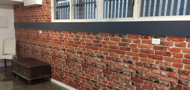 brick wallpaper installation Brisbane