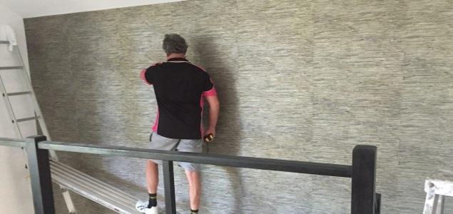 staircase wallpaper installation Brisbane
