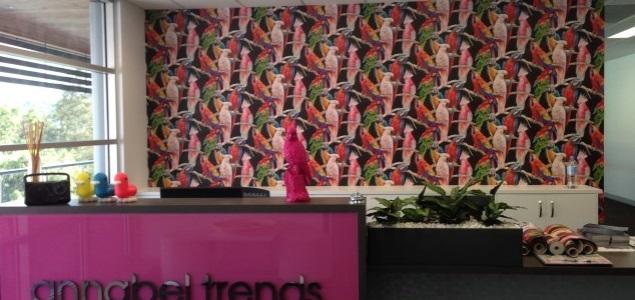 vinyl wallpaper installion Gold Coast
